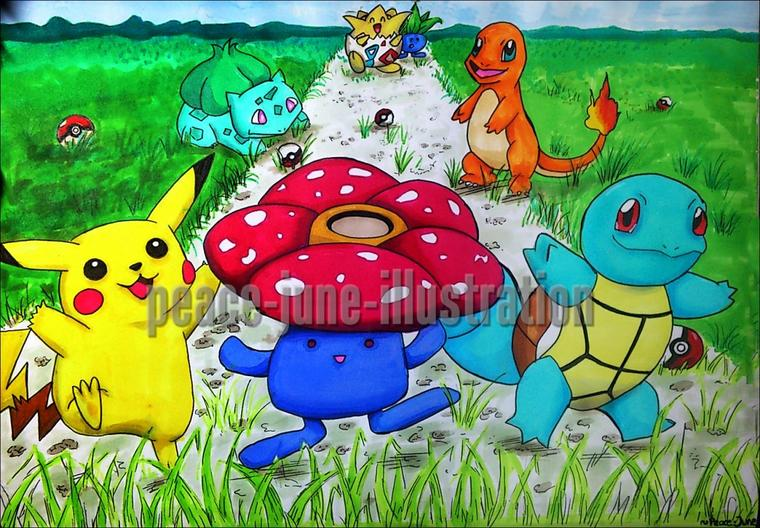 Pokemon (le jeu) fête ses 20 ans ! =3 -