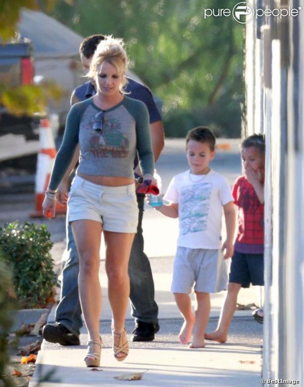Britney Spears et ses fils : Moment de complicité loin du procès qui s'ouvre