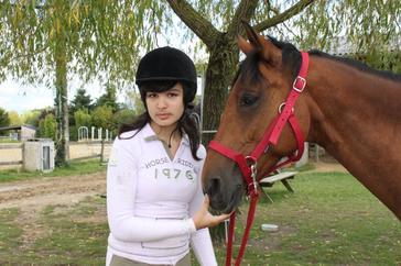 Aime son Amour de Cheval Plus que tout au monde . . .♥ NENUPHAR & Cécilia ..!