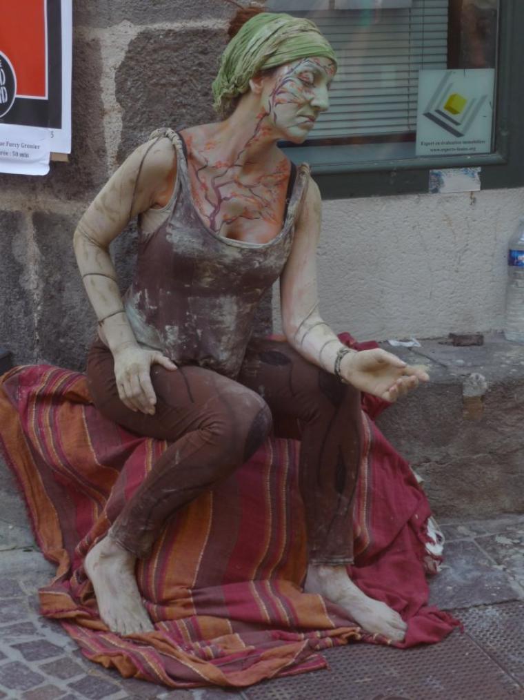 Voici quelque photos de chose que iron et moi avons vu au festival d'Aurillac