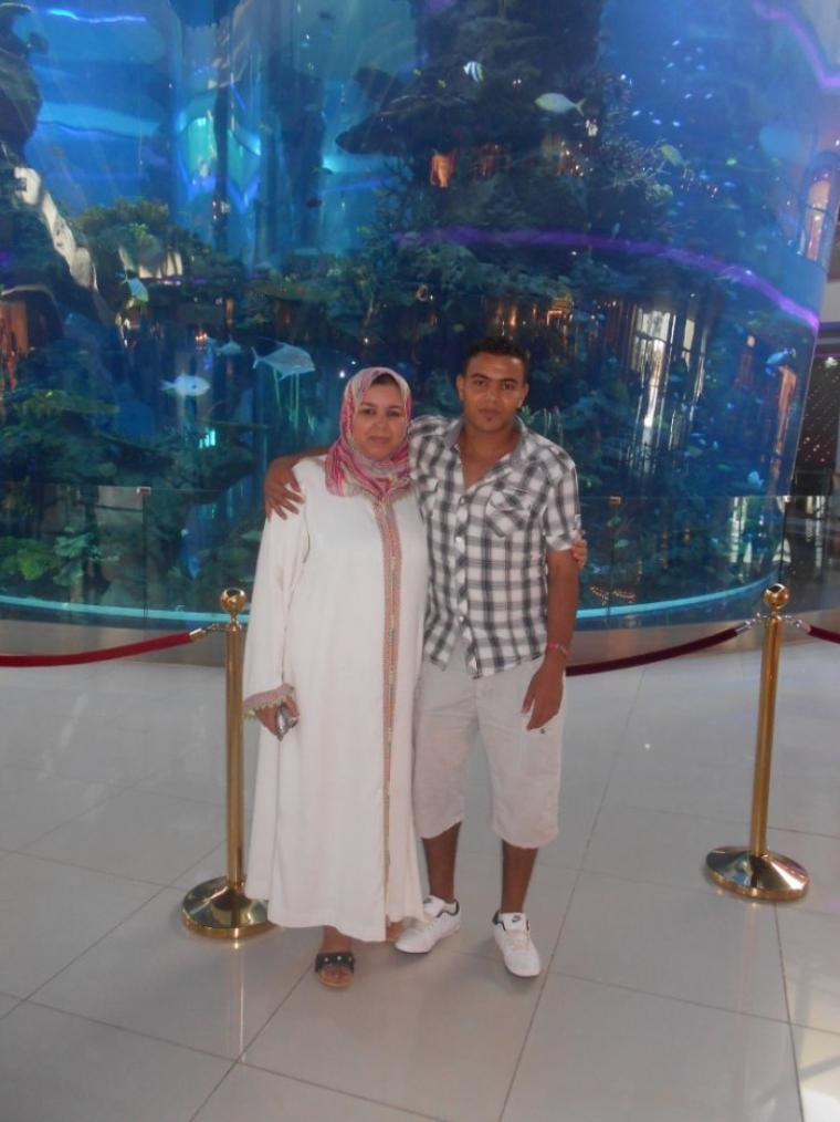 me and my mother