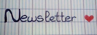 ♥ Newsletter ! ♥