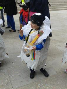 Mon bébé Au carnaval de la maternelle