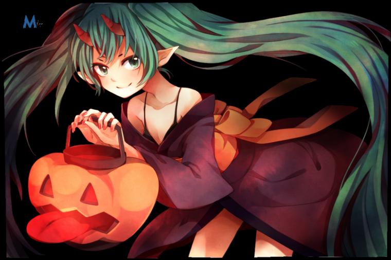 miku halloween