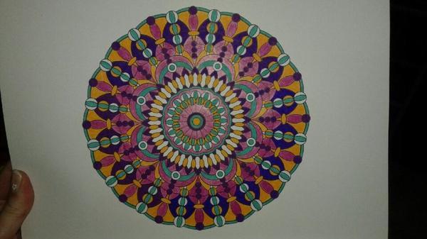 Mandalas coloriages art thérapie de Lucyle