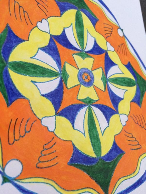Mandalas : Le lâcher-prise coloriages Lolo