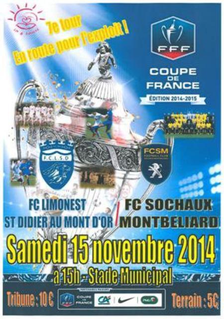 15/11/14 COUPE DE FRANCE LIMONEST-FCSM N°15 VIVIAN