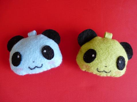 Porte-Clefs Pandas