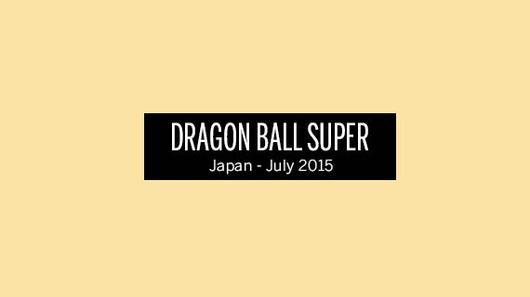 ◤ Dragon Ball Super ◥