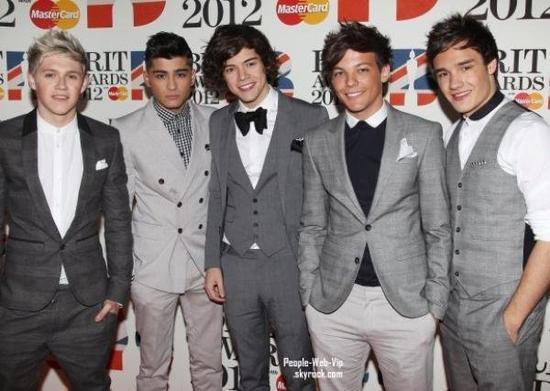 One direction au brit awards 2012!!