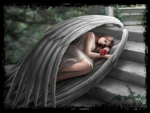Un ange dans mon esprit ...