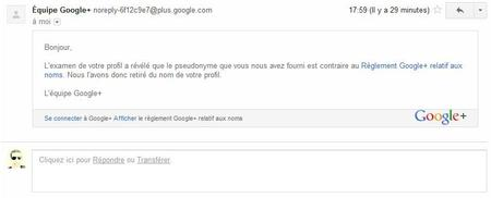 nouvelles règles de confidentialité et conditions d'utilisation.. Googleplus :(