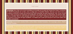 ~WonderfullSeries The Flash ►►Création - Décoration - Article Série.
