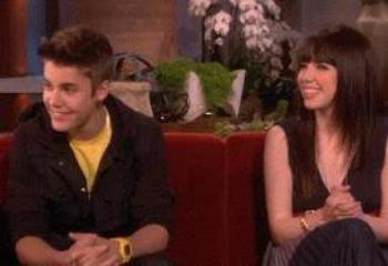 Justin Bieber & Carly Rae Jepsen chez Ellen Degeneres
