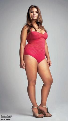 3. Tara Lynn, mannequin grande taille