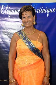 """Lucoi-Denise au titre de Reine """"Elégance Martinique"""""""