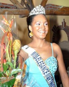 "*Miss ""Elégance Martinique"" 2012-2013"