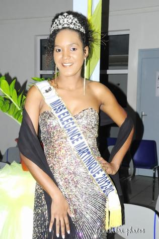 Clarisse FONTELLINE Miss Elégance Martinique 2012-2013