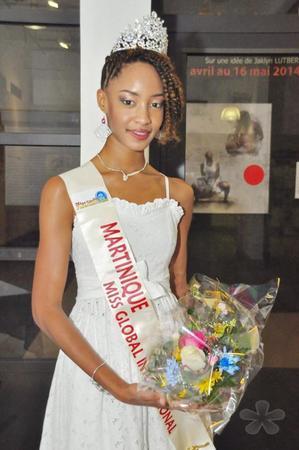 1ère Dauphine Miss Elégance Martinique