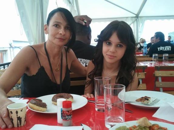 marina et sa maman <3