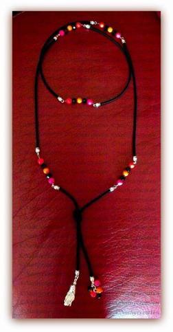 Sautoir (perles Swarovski)