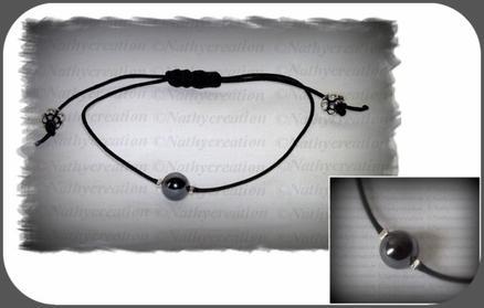 Bracelet Perle Hématite