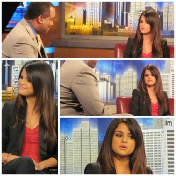 Selena dans good day atlanta