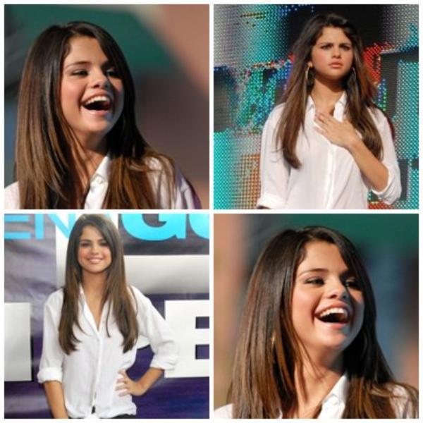 Selena promo pour monte carlo à en georgie au Village Amphitheater