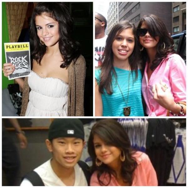 Selena gomez à L'escalade avec justin