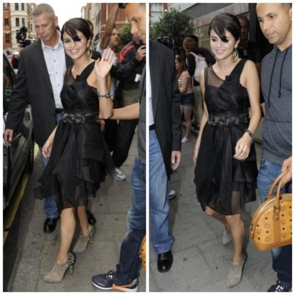 Selena en Europe a Londre