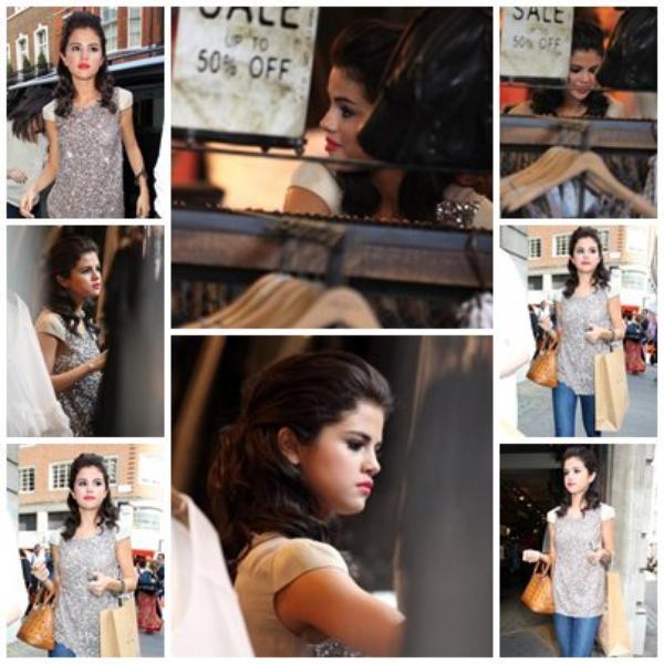 Selena à Londre