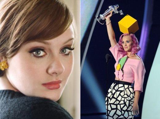 Voici le palmarés complet des MTV Video Music Awards 2011! Et la grande gagnante de la soirée c'est ADELE avec 4 statuettes, suivie de Katy Perry qui elle en a eu 3!! :)