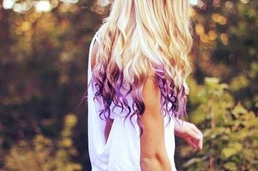 Le ombre hair coloré ! :)