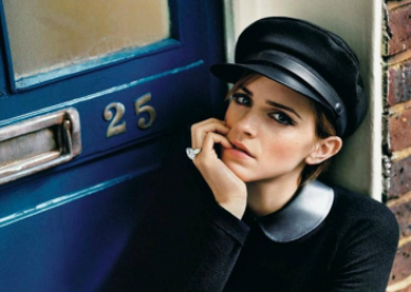 Photoshoot d'Emma by Alasdair McLellan