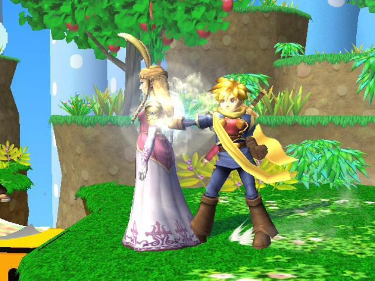 Galerie photos SSBB : Zelda & Sheik