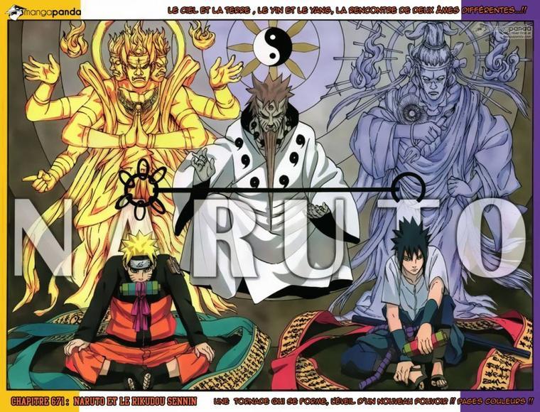 #Naruto 671 : Naruto et le Rikudo Sennin