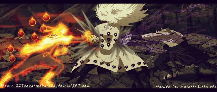 Naruto 674 : Le rinnegan de Sasuke ... !!