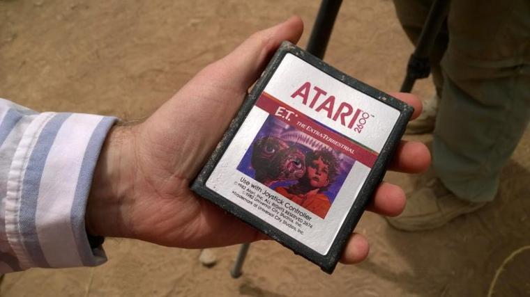 Des cartouches du jeu E.T (Atari 2600) retrouvées au Nouveau Mexique