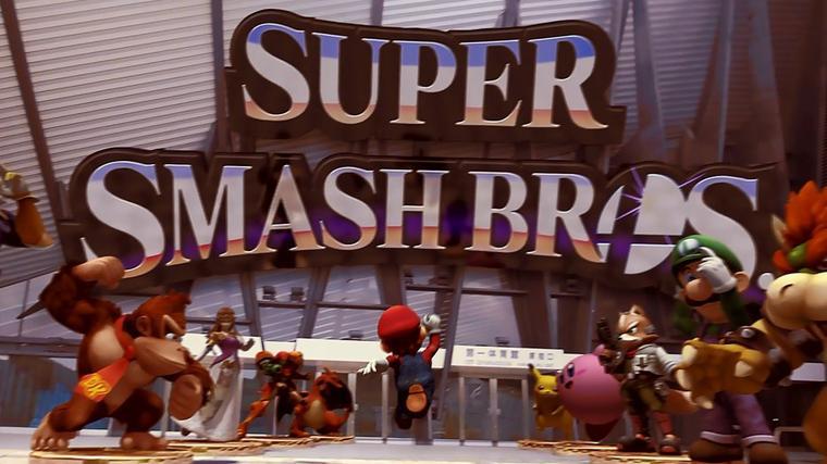 Smash Bros dans le monde réel !