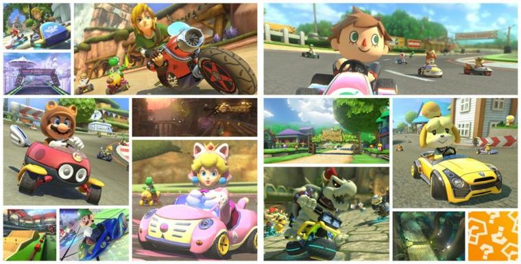 Mario Kart 8 : 2 DLC Zelda & Animal Crossing