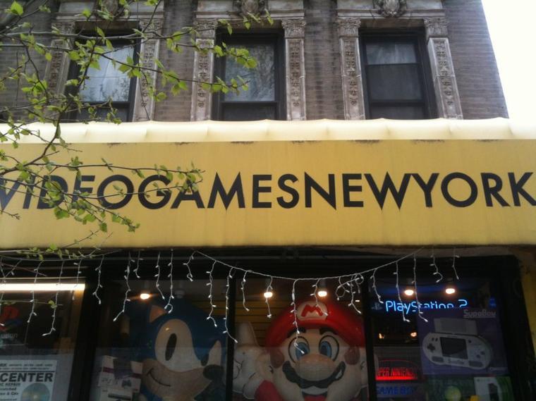 52 objets rarissimes du Video Games Store de New York