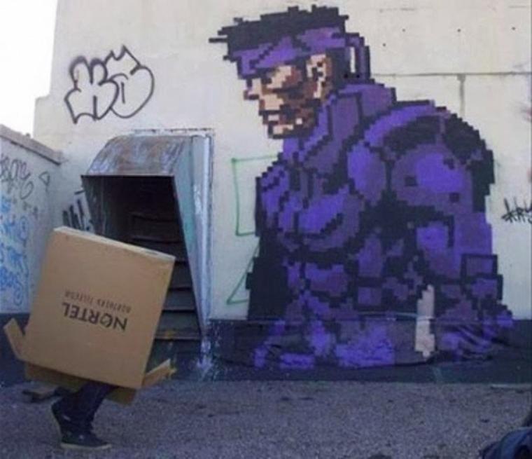 Galerie Photos : Jeux Vidéos en Graffitis (2/9)