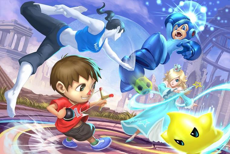 Fanarts #40 - Super Smash Bros