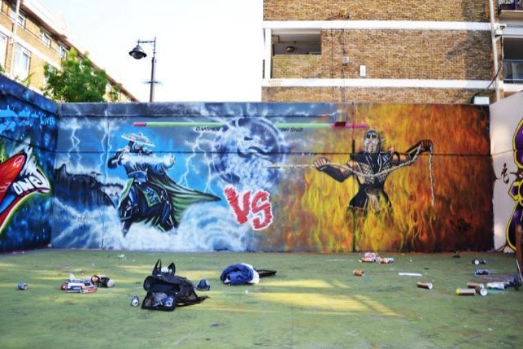 Galerie Photos : Jeux Vidéos en Graffitis (5/9)
