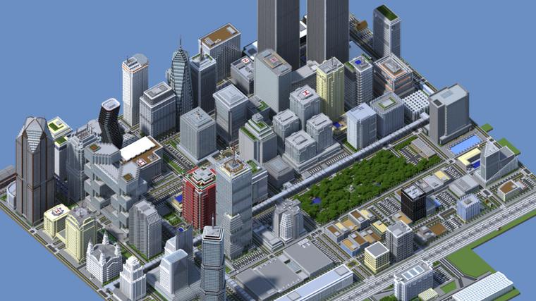 Minecraft : 2 ans pour construire une ville..