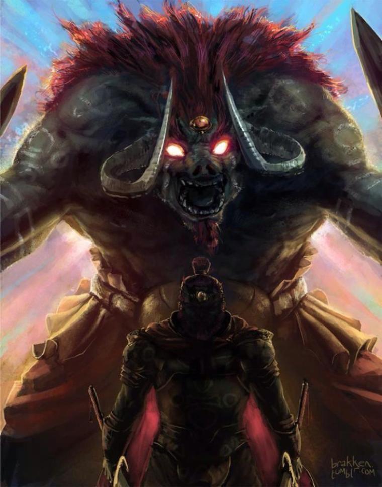 Fanarts #41 - Rivaux, Seigneur du Mal et Tête à tête