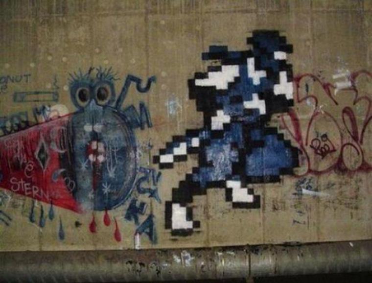 Galerie Photos : Jeux Vidéos en Graffitis (8/9)