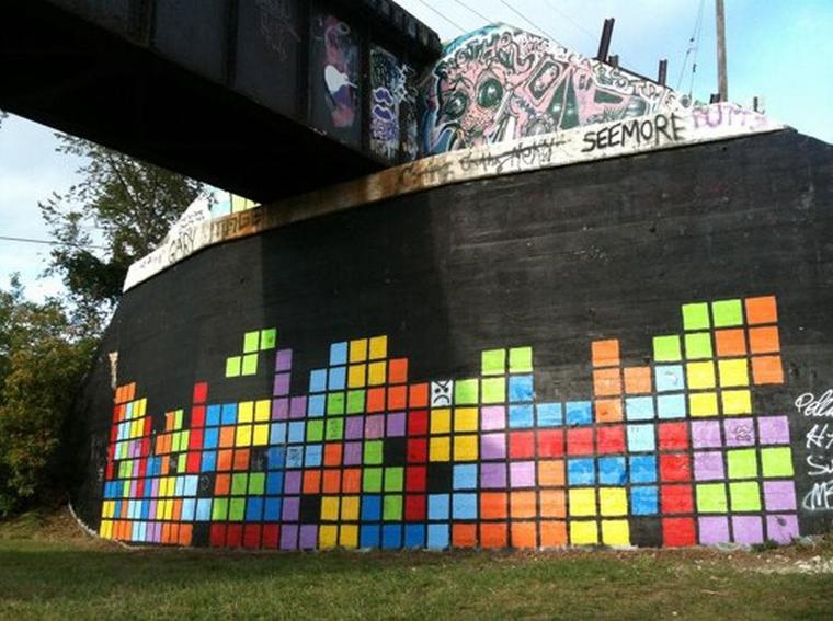 Galerie Photos : Jeux Vidéos en Graffitis (9/9)