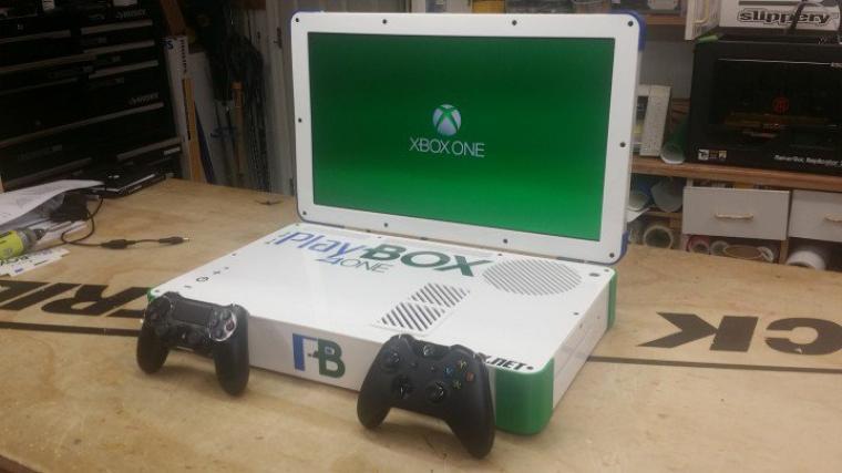 PlayBox 4One : La PS4 et la One fusionnés !