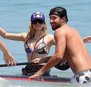 Avril Lavigne et Brody Jenner, ensemble... ou pas ?